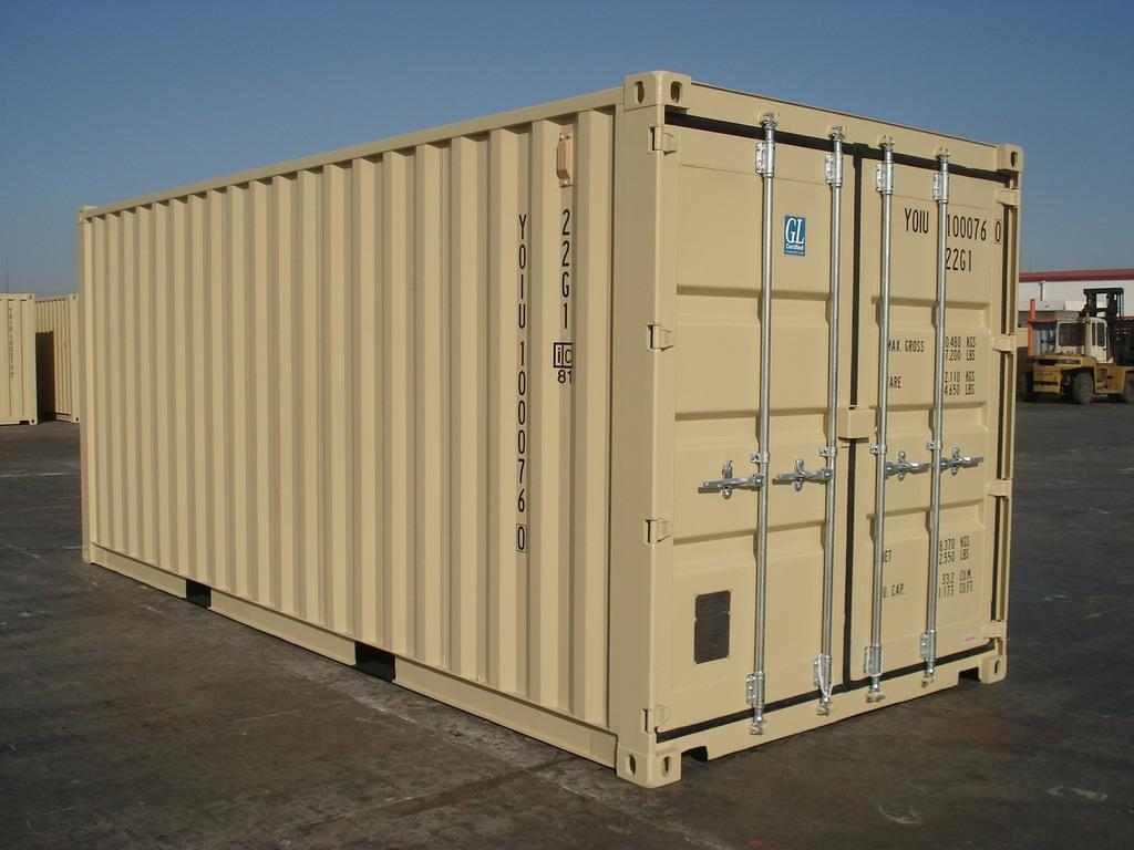 20 Foot Shipping Container storage